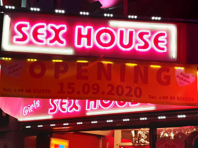 Pink Palace - Sex House an der Reeperbahn in Hamburg St. Pauli
