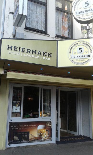 HEIERMANN - Hamburg St. Pauli Reeperbahn 160