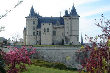 Castle of Saumur on the Loire river