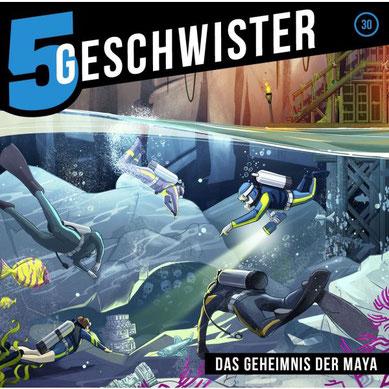 CD-Cover 5 Geschwister - Das Geheimnis der Maya