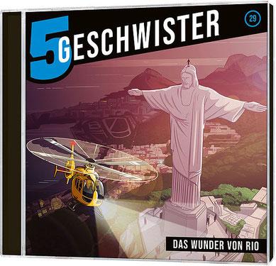CD-Cover 5 Geschwister - Das Wunder von Rio