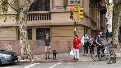Nichts ist so schlimm wie Stadtbesichtigung mit Leine