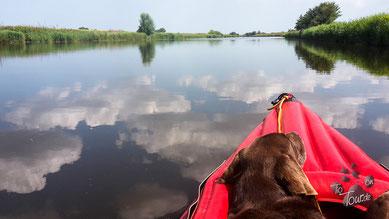Entspannung pur auf dem Norder Tief