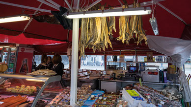 Fischmarkt in Bryggen
