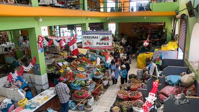 Sicuani - Markt-Halle