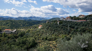 Radtour über Arnasco, Cenesi und Martinetto