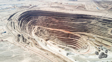 Chuquicamata - größter Kupfertagebau der Welt