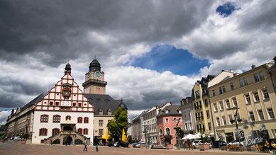 Historisches Rathaus in Plauen