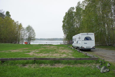 Stellplatz in Solö - Ostseeschären