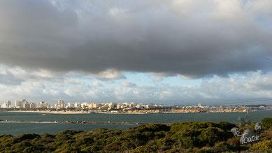 Blick auf Portimão