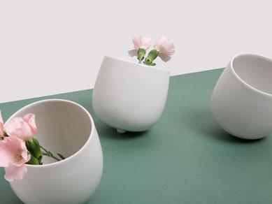 Vase und Schale Schwupps