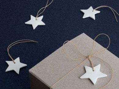 Stern Anhänger Weihnachtsschmuck Baumschmuck
