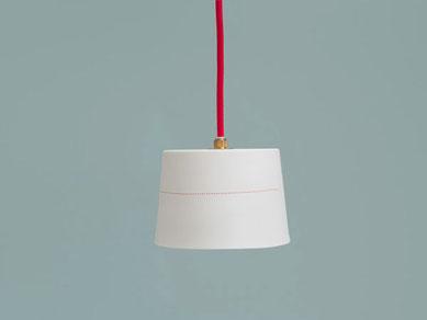 Lampe Porzellan Porzellanleuchte Linien
