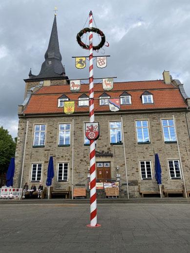 Im Bild der Markt in Ratingen