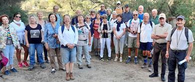 Marche à la Grande Motte le 1er septembre 2020