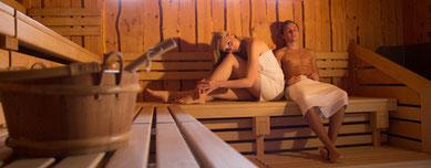 In der Zirbensauna können Sie entspannen.