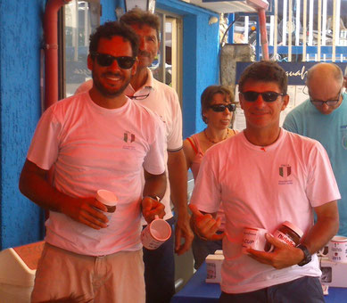 Matteo Brescia e Steven Borzani vincono la Nazionale Fireball a Brenzone