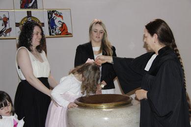 Taufe Markuskirchengemeinde Pirmasens