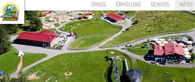 Alpsee Bergwelt, Freizeitvergnügen für jung und alt. Besuch vom Gästehaus Cielas. www.Wertach-ferienwohnungen.de