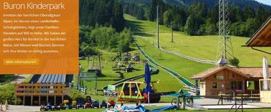 Wertach-Ferienwohnungen.de  Ausflug zum Buron Kinderpark