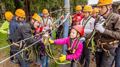 Wertach-Ferienwohnungen.de  Ausflug zum Kletterwald am Grüntensee