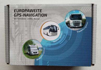 Verpackung des Navis mit Berücksichtigung der Fahrzeugmaße
