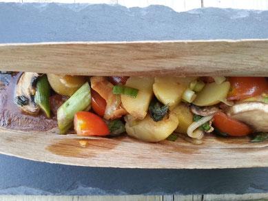 Furnier Gemüse Pilz