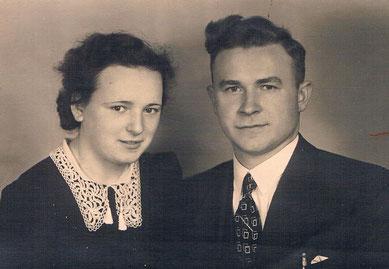 Ehepaar Maria und Adam Kaspar