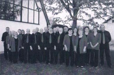 Der Chor im Jubiläumsjahr 2010