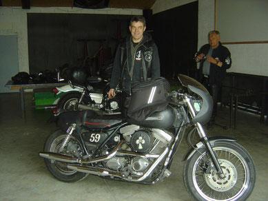 Dan et son FXR 1340