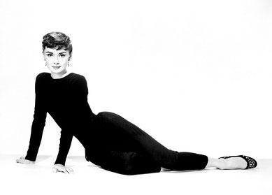 """f0fd90ecf83ff5 Audrey Hepburn: """"Warum Verändern? Jeder hat seinen eigenen Stil und wenn du  ihn einmal gefunden hast, solltest du auch dabei bleiben""""."""