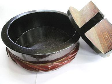 寿司桶 粉固め