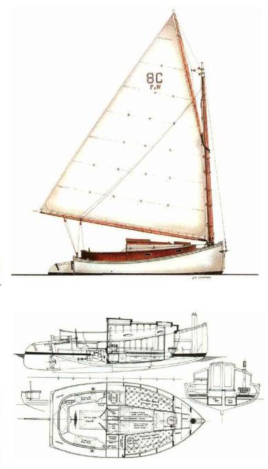 Catboat designers - Catboot Seezunge