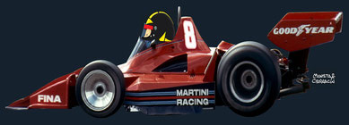 Brabham BT45B - Alfa Romeo de Carlos Pace by Muneta & Cerracín