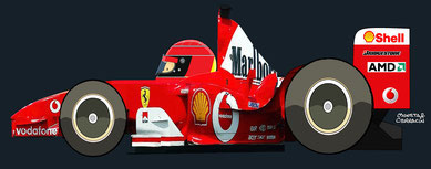 Michael Schumacher by Muneta & Cerracin
