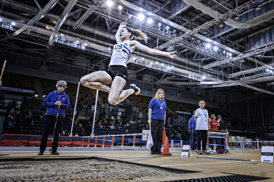 Under 15 Triple Jump record-holder Ellie O'Hara (Photo: Bobby Gavin)