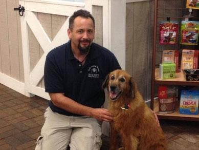 Canine Massage client