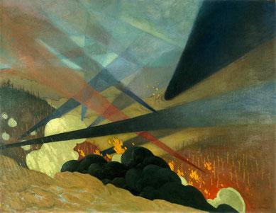 Valloton, Verdun, 1917
