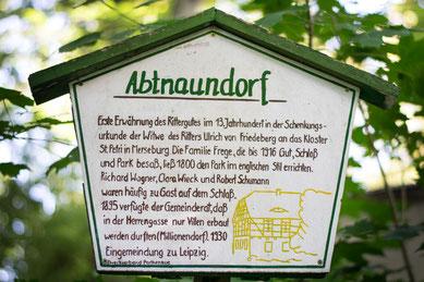 Kegelbahn im Abtnaundorfer Park