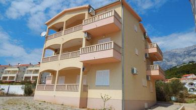 Апартаменты в Промайне с видом на море