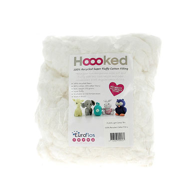 Hoooked Recycled Cotton Filling - 100% Bio-Baumwollfüllung
