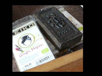 Thé 'façonné' et biscuits au gingembre