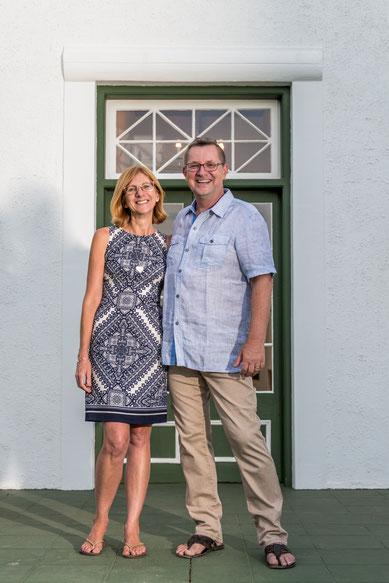 Owners & Managers of De Bergkant Lodge: Renate & Michi