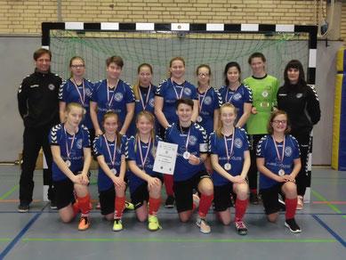 B-Juniorinnen Hallenkreismeister VfL Kellinghusen