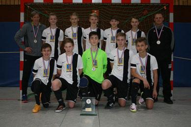Futsal Meister der C-Jugend wurde die SG Wilstermarsch