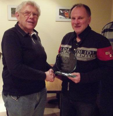 DFB Ehrenamtspreis geht im Jahr 2015 an Volker Butzke