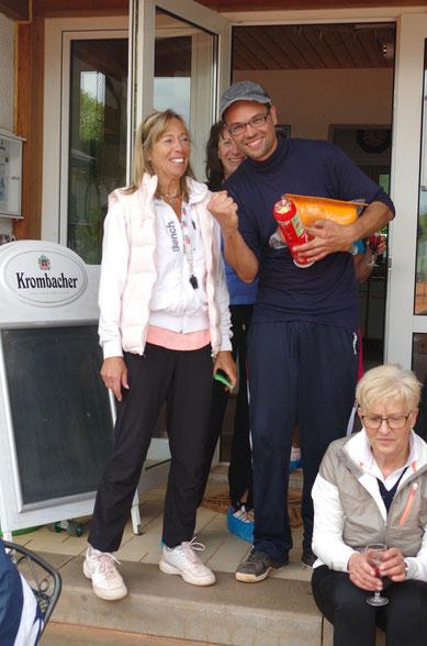 Andreas Schaller sicherte sich den 1. Platz beim Pfingst-Spaßturnier