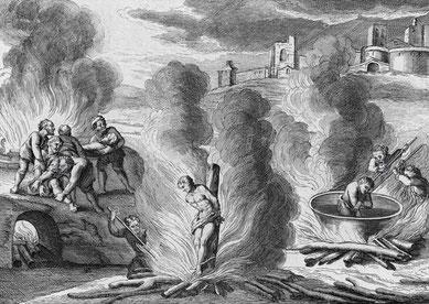 Verurteilte wurden nicht nur verbrannt, sondern auch zu Tode gekocht*