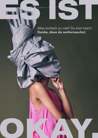 Ein Plakat aus der Kampagne von Lisa Gumprich