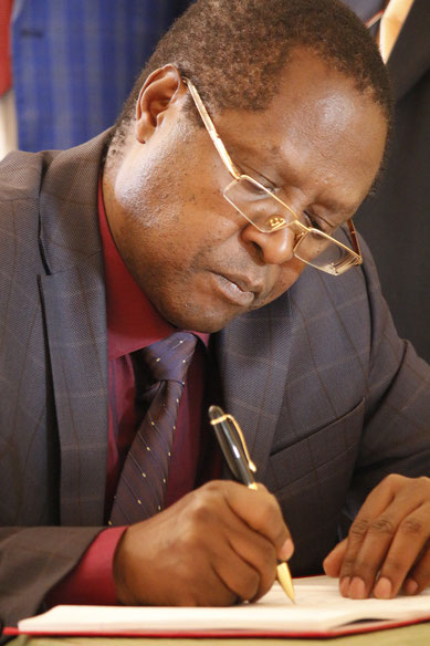The Governor of Embu County Sir Martin N. Wambora...